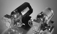 Shurflow diaphragm pumps, standard and premium versions shown, can be used for water pressurizing applications.