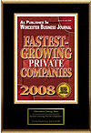 Fastest Growing Private Companies 2008 Award