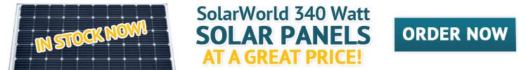 SolarWorld 340 Watt Solar Panel