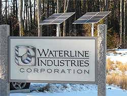 2.6 kW Pole Mounted Array at Waterline Corporate Offices