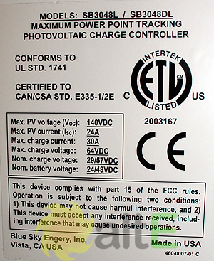 Solar Boost charge controller