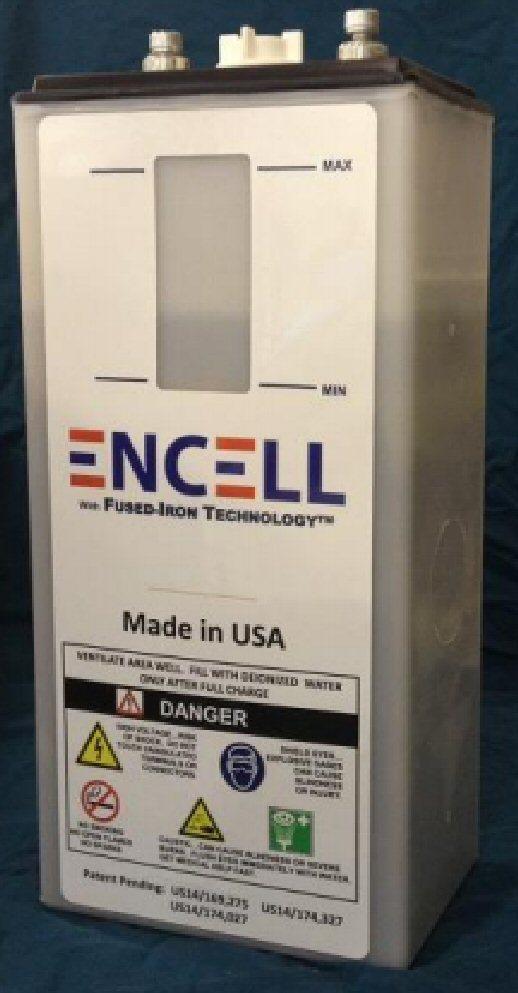 Encell Technology 300Ah 12V Nickel Iron Battery | altE