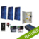 Off-Grid 450W Cabin Solar Power System - Base Kit