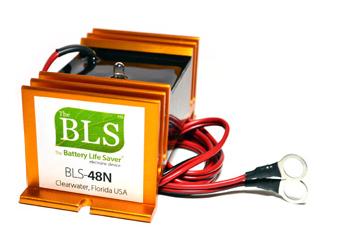 Battery Life Savers Bls 48n Desulfator For 48v Golf Carts