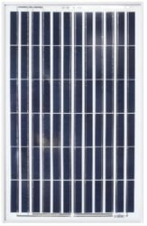 Ameresco Solar 50J 50W 12V Solar Panel with J-Box