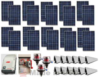 Grid Tie 5 4kw Solar Power System Alte