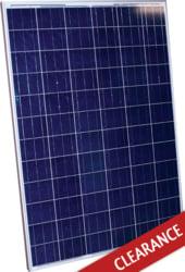 Alte Poly 200 Watt 24v Solar Panel Scratched