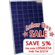 altE Poly 200 Watt 24V Solar Panel