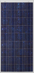 BP BP3125J 125W 12V Solar Panel with J-Box
