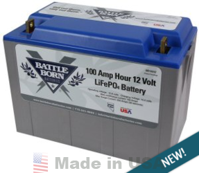 Battle Born Lithium Iron Phosphate (LiFePO4) Batteries
