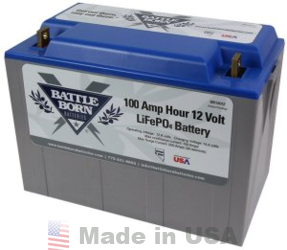 Battle Born Lithium Iron Phosphate Lifepo4 Batteries Alte