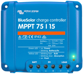 Victron Energy Blue Solar MPPT Charge Controller 75V 15A