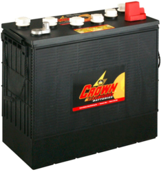 Crown Battery 215Ah 12V Flooded Lead Acid Battery