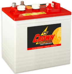 Crown Battery 235Ah 6V Flooded Lead Acid Battery