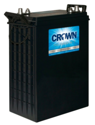 Crown Battery 6CRV390 390 Ah 6V Sealed AGM Deep Cycle Battery - Qty  16/Pallet