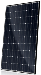 Canadian Solar CS6K-280M 280 Watt Mono Solar Panel Black Frame