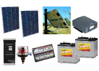 Off Grid 160w Cabin Home Solar System Alte