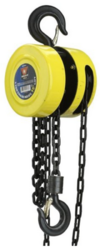 MT Solar Chain Hoist for Top of Pole Mounts