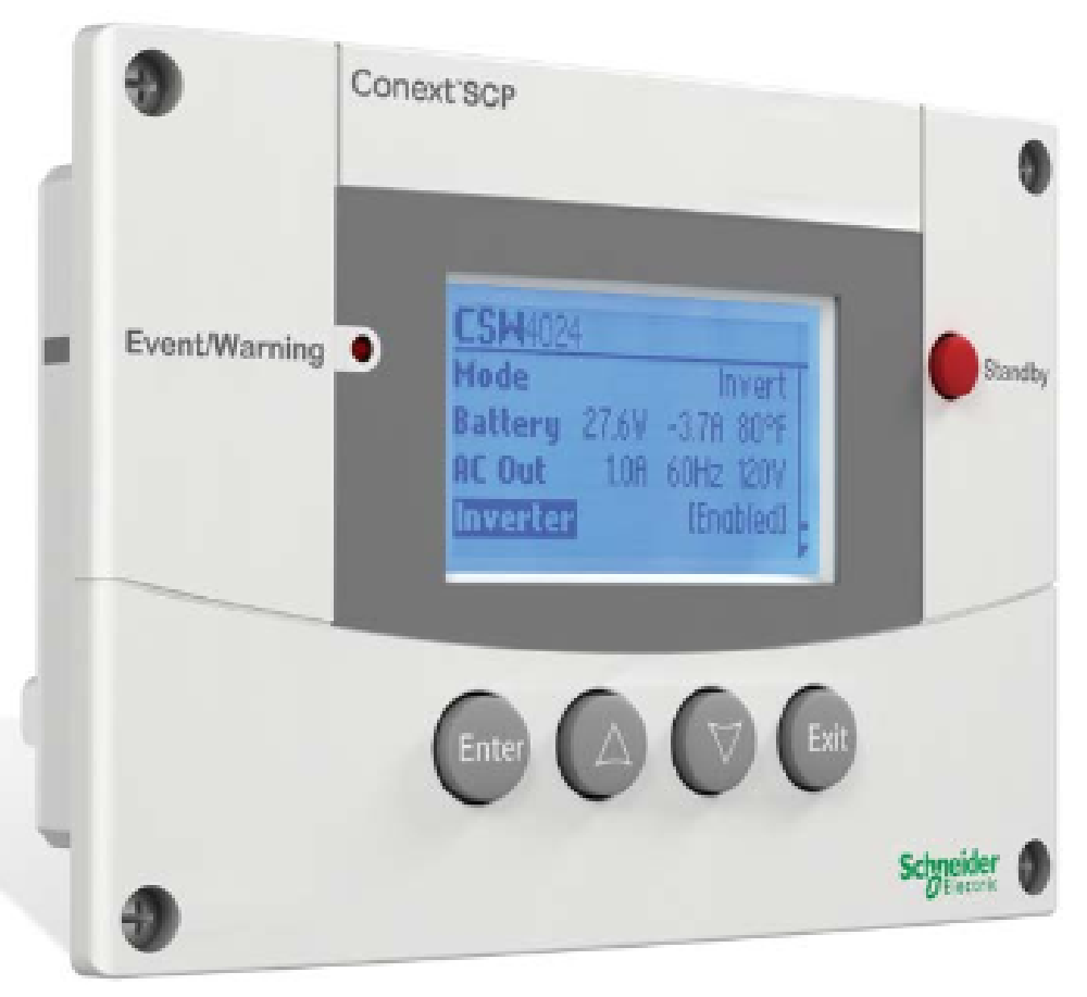 Schneider Electric Conext System Control Panel (SCP) | altE