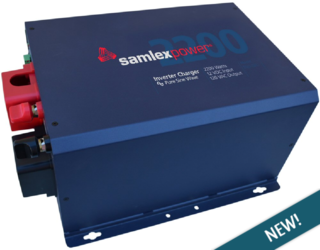 Samlex Evo 2200w 12v Pure Sine Wave Inverter Charger