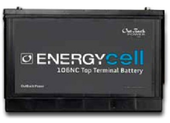 Outback Power Energycell 106nc Nano Carbon 100ah Battery