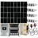 Grid-Tied 9.7kW Residential Home Solar System with Battery Backup