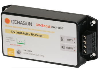 Genasun GVB-8-Pb-12V 8A MPPT for 12V LA Battery