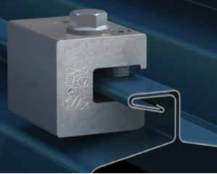 S 5 H90 Horizontal Clamp For Metal Roofs Alte