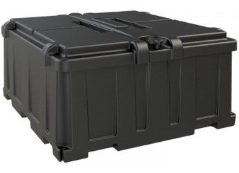 Noco Commercial Battery Box - Dual Group 8D Batteries