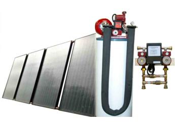Heliodyne HPA2-2408G80AC Radiant Floor Heating Kit