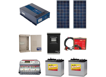 Off-Grid Cabin package 2 - 280W - Kyocera Modules
