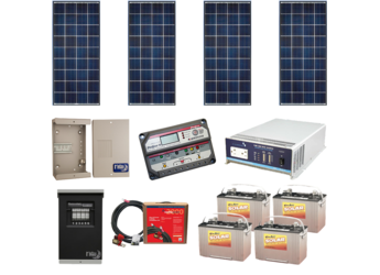 Alte Off Grid Solar Cabin Package 560w