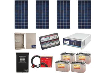 AltE Off Grid Solar Cabin Package - 560W