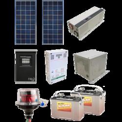 AltE Off Grid Solar Cabin Package - 280W
