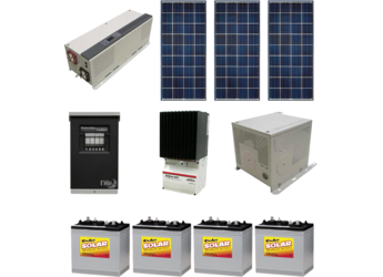 Alte Off Grid Solar Cabin Package 420w