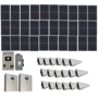 Grid-Tied 9.1W Residential Home Solar System with Battery Backup