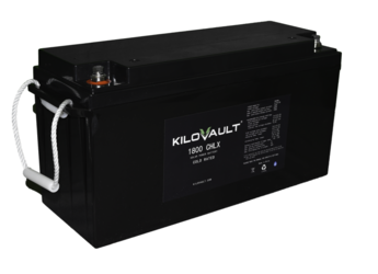 KiloVault 1800 CHLX 1800Wh 12V Lithium Solar Battery- Cold Rated