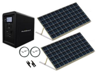 KiloVault Emergency Solar Power Stations | altE