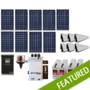 Off-Grid 2.39 kW Residential Home Solar System
