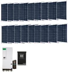 Off-Grid 5.4kW Residential Solar Power System - Base Kit