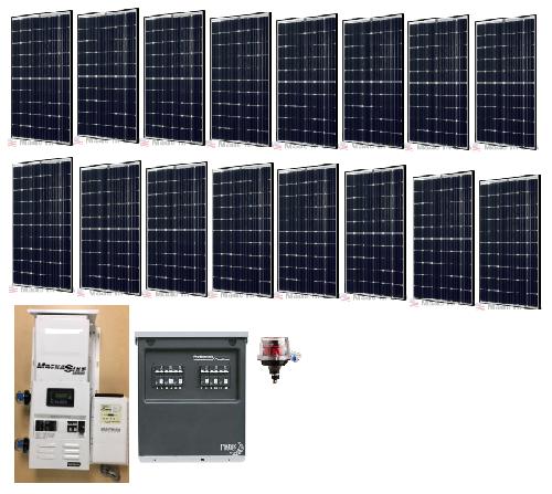 solar off grid 4 8kw residential solar power system | alte watt solar  panel disconnect wiring diagram