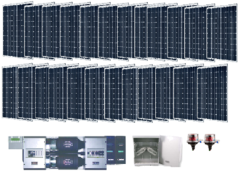 Off Grid 7 3kw Residential Solar Power System