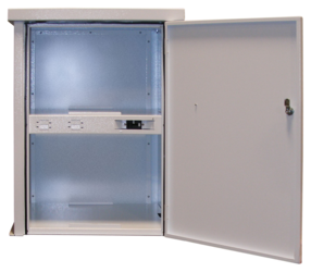 MidNite Solar MNBE-8D2x2 Battery Enclosure w/ Locking Door, 250A