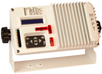 Midnite Solar The KID, 30A MPPT Charge Controller, Marine Version, White
