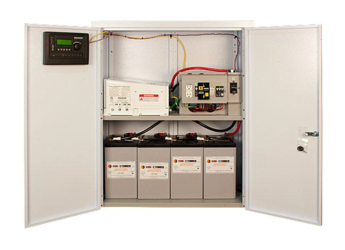 MidNite Solar Pre-Wired AC Coupled System with Enclosure, MS4024PAE