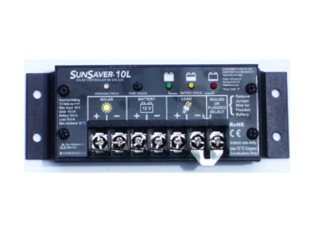 Morningstar SunSaver SS-20L-12V 20A, 12V Solar Charge Controller w/LVD (Gen3)