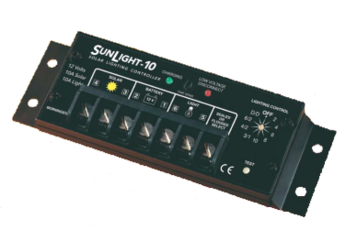 Morningstar SunLight SL-10L-12V 10A, Lighting Controller with LVD
