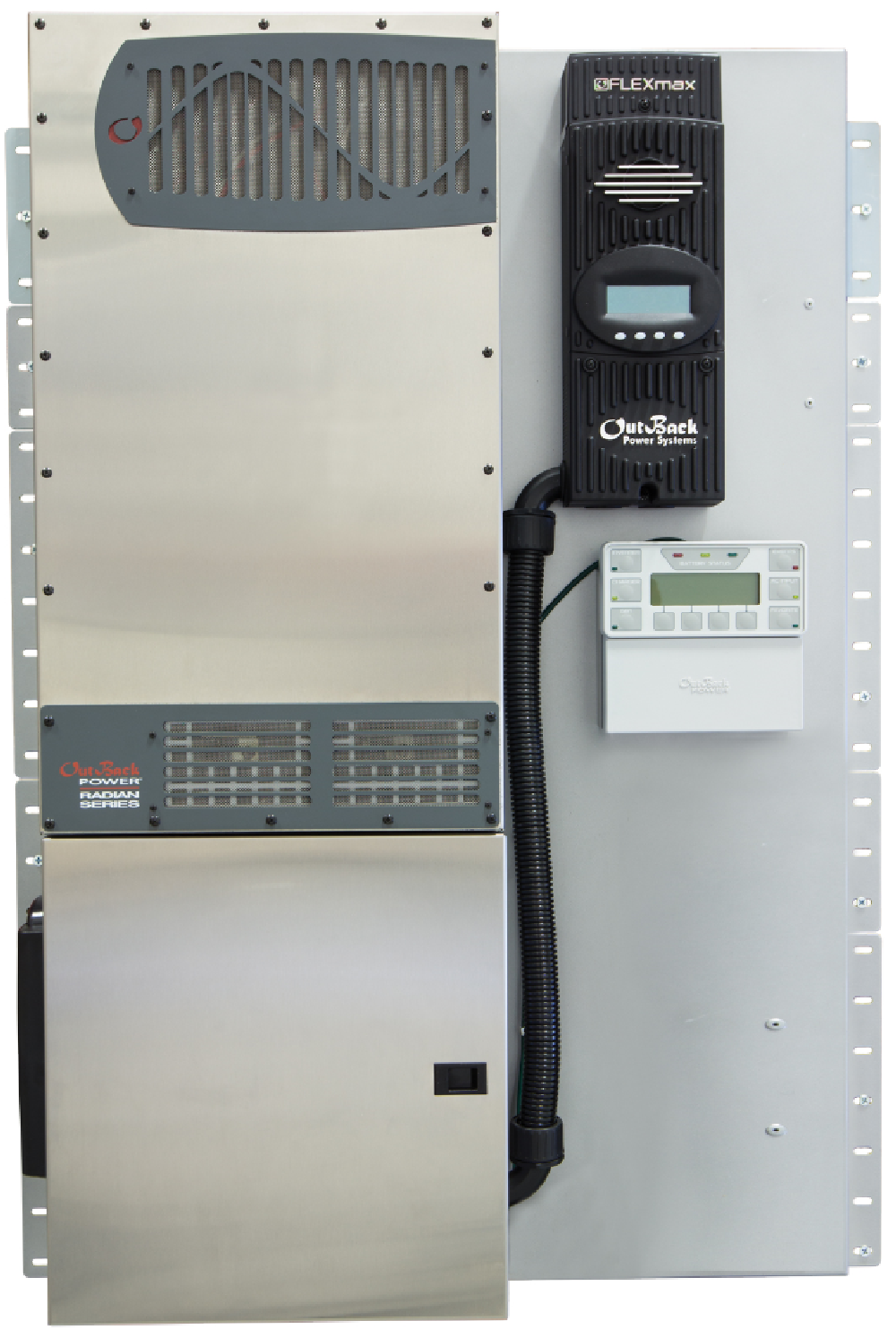 Outback Power Pre-wired Radian Inverter/Charger Systems | altE