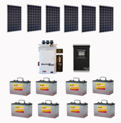 Off-Grid Residential package C - 1.65kW - SolarWorld Modules