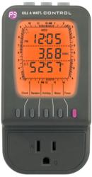 kill a watt electricity usage monitor & automatic timer p4482